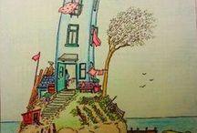 DIY Printable Coloring Pages for Grown-ups / Free printable coloring pages from around the web, for us BIG kids. ;)