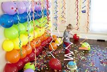 Gumball Party Ideas / This super fun board is to help you create a fun Birthday Party with a gumball theme.  These ideas can also be used to a candy, circus or carnival theme party.