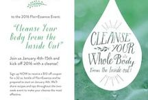 2016 Detox Event / We are hosting the big #2016detoxevent! Head to our event page to RSVP and for a $10 off coupon for a 32 oz. bottle of Flor-Essence. https://www.facebook.com/events/1508853476081305/  Let's flush these holiday toxins and cleanse from the inside out! Stay tuned for tips, recipes, giveaways, and more!