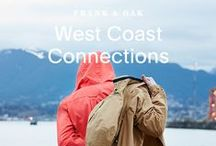 West Coast Connections - February '16 / This month, we headed west to Vancouver's waterfront district where a thrilling blast of fresh air welcomed our February collection.  / by Frank & Oak