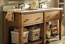 Farmhouse Style / The cozy style of Farmhouse!  From the front porch, bedroom to the bathroom.  Planning on redesigning your home in Farmhouse Style?   Please shop around for some great ideas!