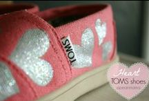 TOMS / I love TOMS, especially the ones that are custom-painted.
