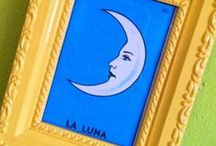 Loteria Love / Loteria is a Mexican bingo card game and the artwork is iconographic--I love anything with Loteria imagery on it. / by Denise Cortes | Pearmama.com