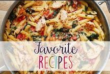 Favorite Recipes / Favorite recipes for breakfast, lunch, and dinner!