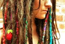 Natty Dreads / Because one of these days, when I get to a place of spiritual readiness, Imma get dreadlocks. Until then, I admire the dreads of others.