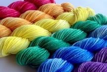 Yarn / Yarn I would love to purchase and crochet or design with some day. All kinds of yarn weight, yarn colors, handspun, acrylic, wool, cotton, silk.