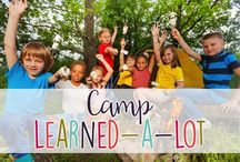 Camp Learned-A-Lot / A Camping Themed Celebration of Learning