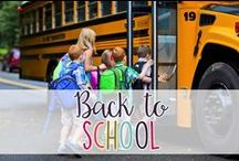 Back to School / Resources, Activities, and Fun for Back to School!