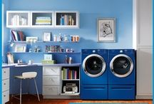 Laundry Love / Loving laundry is easy when your rooms look as good as these.  / by Frigidaire®