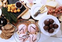 holiday + entertaining / Inspiration for your Christmas celebrations this year. Recipes, table setting, and tips for pulling off your holiday get-together. Cheers!