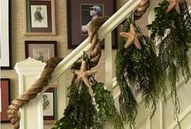 holiday + decorate / Creative ideas to decorate your home for the holidays.