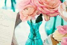 Blue & Pink Wedding Theme / by Eva Rose