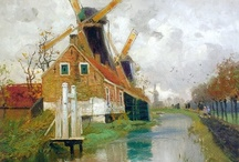 Art . . Frits Thaulow / Frits Thaulow (1847-1906) was a Norwegian impressionist painter, best known for his naturalistic depictions of landscape.