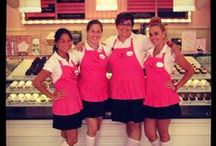 Fun With the Crew! / We have the sweetest staff ever at Casey's Cupcakes!