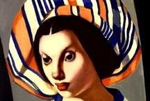 Art . . Tamara de Lempicka