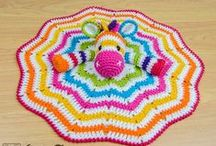 Crochet for Baby / Booties, lovies, crowns, blankets, layette sets and more.