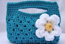 Crocheted Purses, Bags, & Baskets