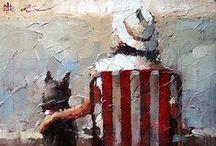 Art . . Andre Kohn / by Francine Schwartz