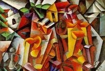 Art . . Cubism / by Francine Schwartz