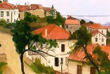 Art . . Cities, Towns and Villages / by Francine Schwartz