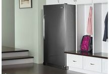 Double-Duty Freezers / Frigidaire's freezers offer flexible storage that you can bring inside the home for easy access. / by Frigidaire®