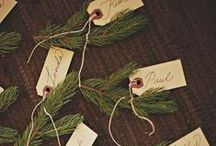 holiday + gift wrap / Creative ideas for gift wrapping your holiday gifts.