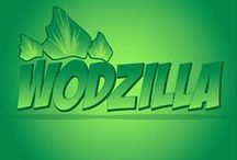 WODzilla! / My personal Tees Brand for training, and