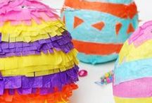Easter Ideas / Time for all things bunny, egg-shaped and pastel colored.