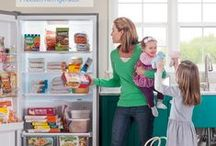 Frigidaire Freezer Cooking / Buying, storing and making meals ahead of time helps get dinner on the table in a snap when there is little time to spare. A secondary freezer like the Frigidaire 2-in-1 Freezer/Refrigerator is the perfect ally to help save money by buying in bulk. / by Frigidaire®