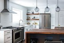 Dream Kitchen Inspiration / How to achieve your dream professional-grade kitchen (without major renovations)