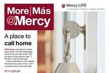More@Mercy Newsletters / Mercy Health System quarterly community newsletters.