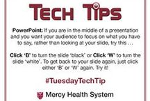 Tech Tips / #TechTips from Mercy Health System #TuesdayTechTip
