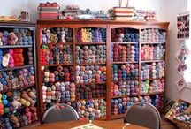 Yarn Lovers / Yarn storage ideas, color combos, ideas for yarn, tips and tricks. Anything yarn related.