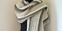 The Super Scarf / The super scarf is the hottest trend this season. You'll find crochet, knit, weave, and blanket scarves. Patterns, project ideas, and how to wear tips.
