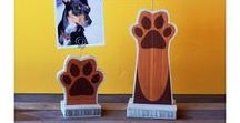 Woof Woof / This board is dedicated to all things DOGS! Custom prints, handmade items, and more.