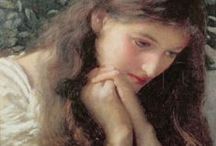 PRE-RAPHAELITES / The Brotherhood and associated artists / by melissa chase