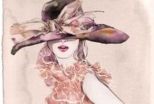 Art....Fashion Illustrations / by Connie Rhodes