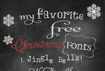 Free Fonts / by Shannon Owings