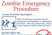 In Event of Zombies / The #zombies are coming... be prepared!
