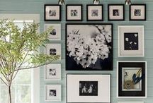 Home Decor: Wall Art / INCLUDES MANY DIY WALL ART TUTORIALS