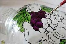 Art: Ceramic & Glass Painting, Glittering, Découpage, Etc.