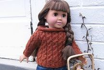 """Crafty // Doll Clothing Patterns {Sewing & Knitting} / Clothes patterns to fit mostly 18"""" dolls (American Girl)"""
