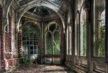 ⁂.Un-loved & forgotten ruins.⁂