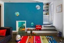 Kid Spaces / Bedroom, shared bedroom, playrooms and more. Kids decor.  / by Kathryn Stockwood