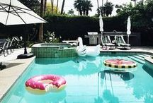 Really Cool Pool Rafts and Floats For Adults / Swan raft, watermelon rafts, donut raft, flamingo raft, and more. We round up and show you wear to buy all of the really cool pool floats for adults so you can be the hippest pool-goer at all the summer pool parties. / by Nubry