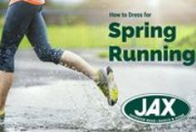 Ready, Set, Run! / Running! From training for your first 5k or setting out for an Ultra Marathon JAX has the Running Gear you need!
