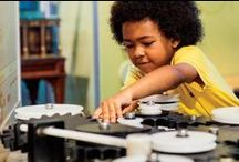 STEM for kids / Want to get kids excited about STEM? We track down the coolest apps, games, toys, tees and more to encourage love of science, technology, engineering + math.