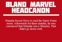 Bland Marvel Headcanons / by Shannon Owings