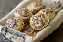 Muffins : Scones : Breads / plus some biscuits + buns + rolls / by Leah Lenz