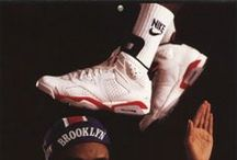 Footwear / I have been a fan of footwear/trainers/sneakers since i can remember.. i was begging for Jordans on my 10th birthday.. (1988) heres a celebration...   oh and fuck all you hipster.. bandwagon trainer fans. Sneaker Head 4 life (not just while its in fashion!) / by Ben Hawes